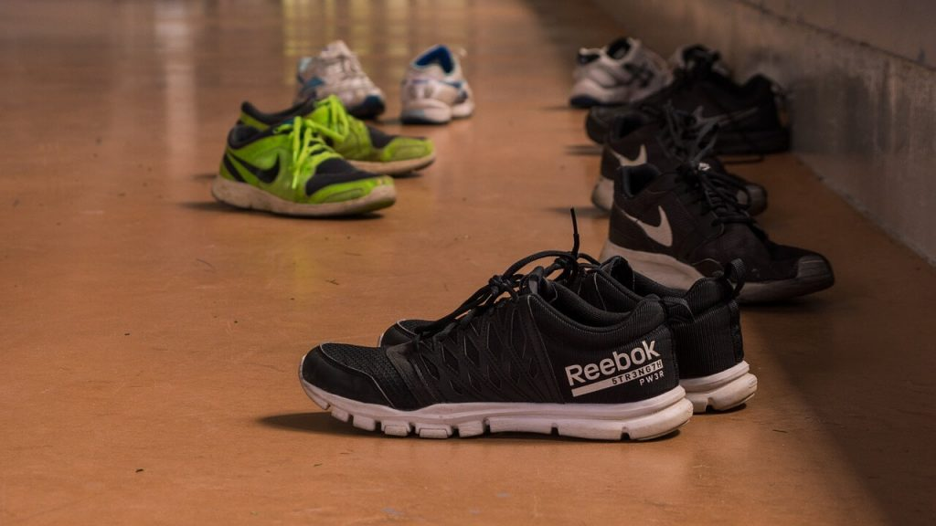 Sneakers for Zumba dance